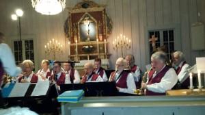 En adventshälsning från julkonserten den 4:e advent i Bråttensby lilla fina kyrka!