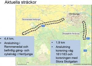 Gång- och cykelväg Remmenedal–Herrljunga