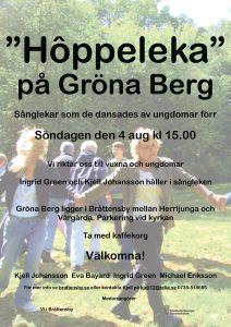 Hôppeleka på Gröna Berg